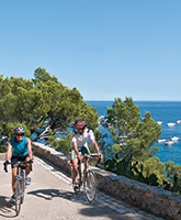 Costa Brava Pyrenees biking photo